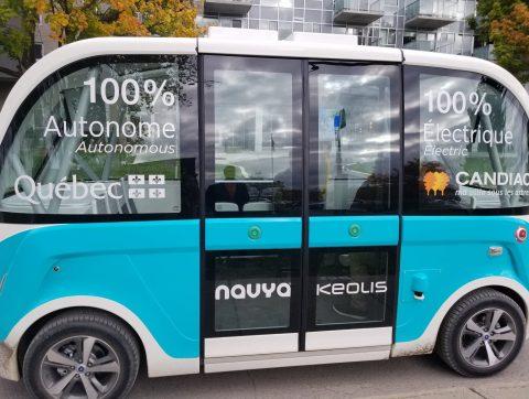 L'avenir du transport intelligent et autonome au Québec