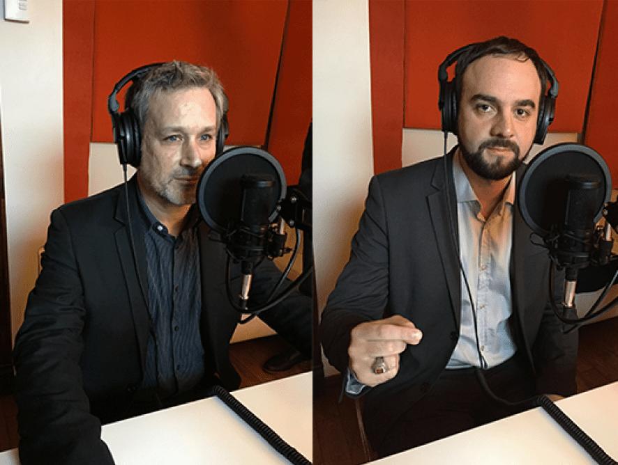 """Sylvain Cofsky et Julien Caudroit: """"On a un rôle à jouer au Québec dans l'aérospatial"""""""