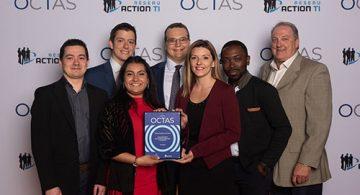InfraNets remporte le prix OCTAS de la Relève étudiante universitaire