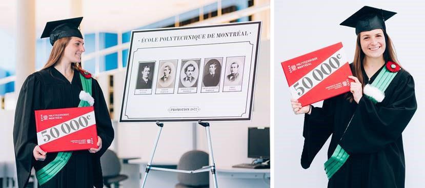 Polytechnique Montréal remet son 50 000e diplôme
