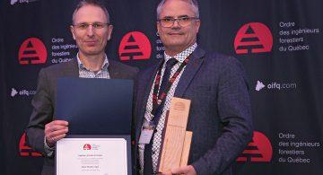 Un ingénieur forestier de la Côte-Nord nommé Ingénieur forestier de l'année par l'OIFQ