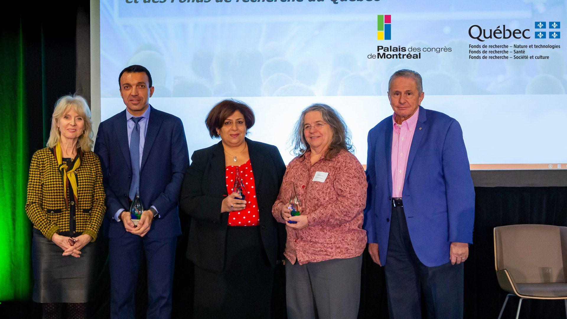 Trois scientifiques remportent un prix de 10000 $ chacun pour l'organisation de congrès internationaux à Montréal
