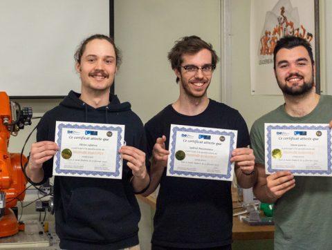 Des étudiants québécois représenteront le Canada à la finale internationale du Trophée RobotFly