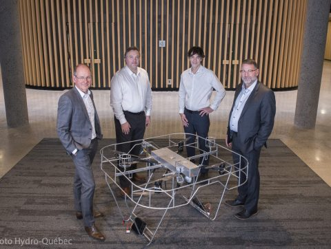 Signature d'un protocole d'entente entre un expert français en IA et Hydro-Québec