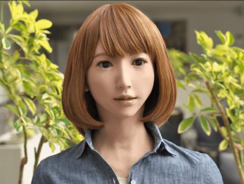 ERICA, LE PREMIER ROBOT À JOUER DANS UN FILM