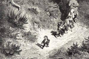 Illustration: Gustave Doré, Le Petit Poucet, Charles Perrault