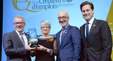 Premier Tech récompensée au Gala Prix Créateurs d'emplois du Québec 2018