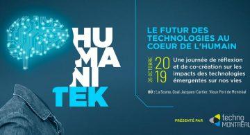 Le futur des technologies au coeur de l'humain, le RDV annuel d'Humanitek