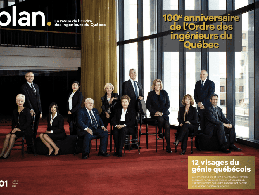 Numéro spécial de la revue PLAN pour les 100 ans de l'OIQ