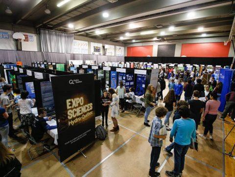 Une vitrine de choix pour les jeunes intéressés par la science et la technologie