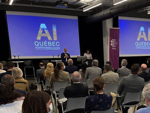 [DOCU] – Lancement du livre «AI Québec»